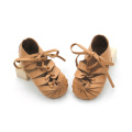 Wholesales Leather Roman Baby Sandals Summer