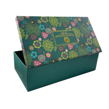 Premium Customized Cardboard Two Pieces Shoe Paper Box