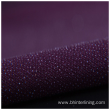 10 Years manufacturer for China Woven Interlining,Woven Fusible Interlining,Woven Interlining Fabric Supplier Customized colorful double-dot  fusible woven interlining export to Brunei Darussalam Factories