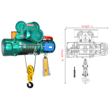 CD1 series wire rope electric hoist