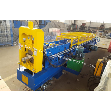 Aluminium Rain Water Roof Gutter Roll Forming Machine