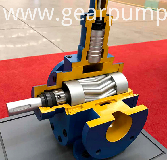 diesel fuel gear pump