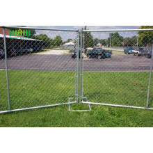 Construction Chain Link Temporary Fence Concrete