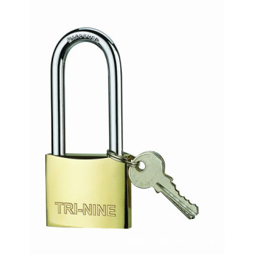 Best Quality for Medium Duty Brass Padlock M-thick Type Brass Padlock With Long shackle export to Samoa Suppliers