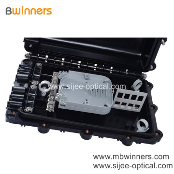48 Core Outdoor Horizontal Waterproof Optical Fiber Splice Box Closure