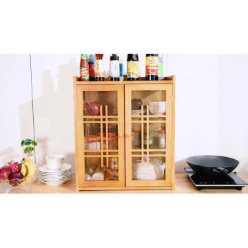 kitchen wall hanging cabinet made in china,Simple solid wood cupboard,Kitchen tool storage cabinet