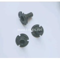 Notched ferrule Iron plate tee nuts