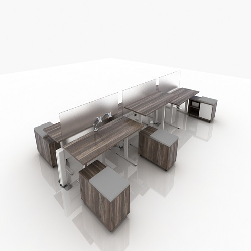 adjustable desk 10