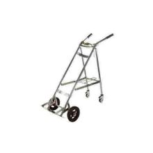 Stainless steel oxygen cylinder cart