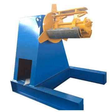 Manual and hydraulic decoiler steel uncoiler forming machine