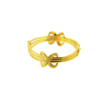 Special Price for K Gold Perforated Bangle Bangle with Infinity symbol export to Italy Factories