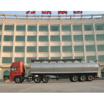 Transport milk tank truck
