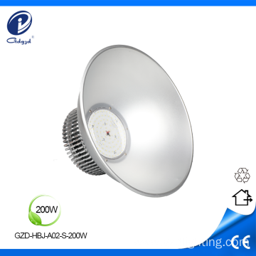 200W fin heatsink high bay light fixture