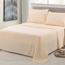 Leading for China Bed Sheets,Cvc Sheets For Hotel,Sateen Stripe Sheets Supplier 300TC Poly/cotton 25/75 Sateen Bed Sheets supply to United States Manufacturer