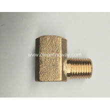 "Pressure Washer 90°Brass 3/8""FNPT * 3/8""MNPT Connector"
