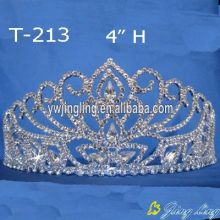 Crystal 4 Inch Pageant Tiaras