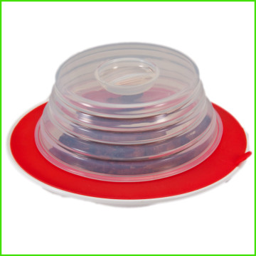 Kitchen Modern Design Customer Microwave Silicone Lid
