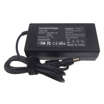15V 6A laptop ac adapter charger for toshiba