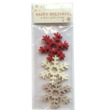 China for Christmas Ornament Christmas snowflake pattern window and wall sticker export to Germany Manufacturers