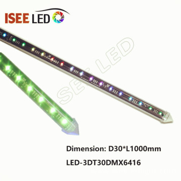 2meter Led 360 Degree DMX Meteor Tubes