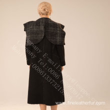 Lady Spain Merino Shearling Overcoat