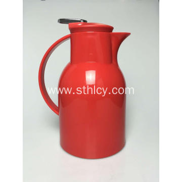 Lightweight Red Stainless Steel Water Kettle
