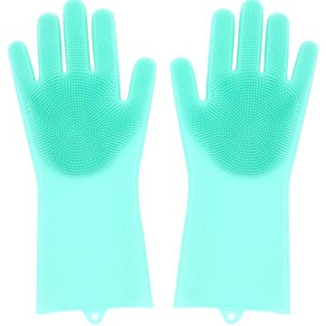 China Factory for Supply High Temperature Gloves,Heat Protective Silicone Barbecue Gloves of High Quality Hot Selling Silicone Washing Gloves Mitt export to France Metropolitan Factory