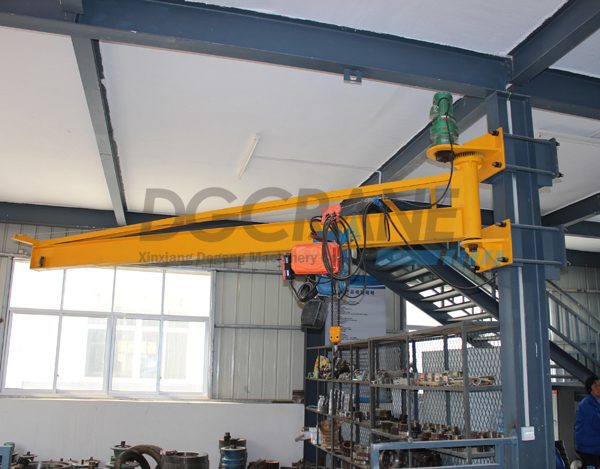 Floor Mounted Slewing Arm Jib Crane