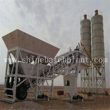 40 Ready Wet Mobile Concrete Batching Plant