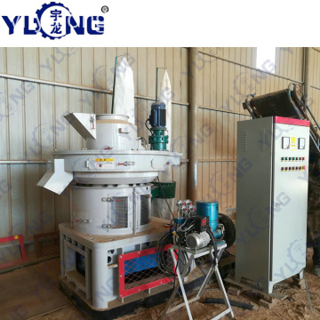 Rice Husk Pellet Mill Máy Pelleting