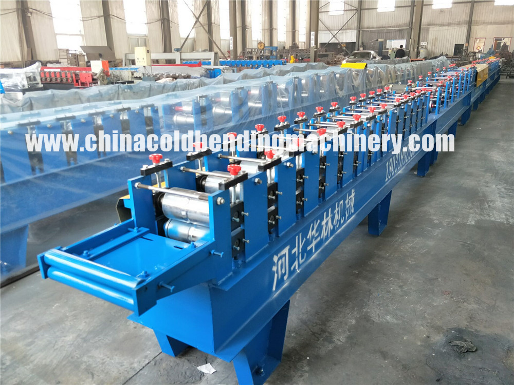 Ce Certified 77 Pu Foam Roller Shutter Door Machinery