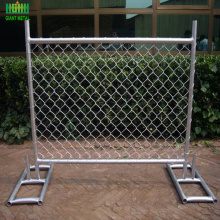 factory removable garden temp chain link fence construction
