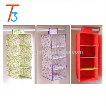 Foldable 4 shelf Mesh Hanging Toy Organizer for sundries