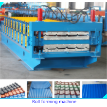 Bottom price for Double Layer Glazed Roof Sheet Machine PPGI Glazed Tile Roofing Making Machine supply to United States Minor Outlying Islands Manufacturers