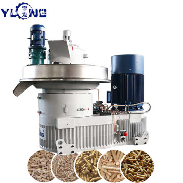 YULONG XGJ560 eucalyptus wood pellet extruder machine