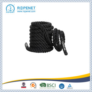 factory low price for Training Rope Black Undulation Single Tricep Workout Rope export to Guyana Factory