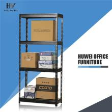 Steel light duty boltless shelving for warehouse