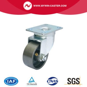 Top Plate Iron Wheel Swivel Industrial Caster