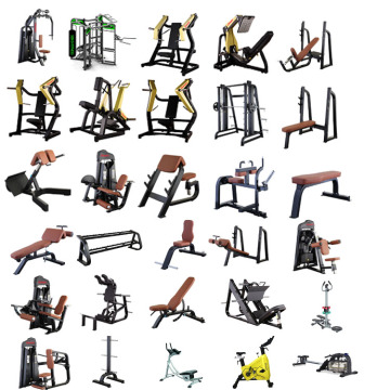 600㎡ complete gym equipment package over 69 piece