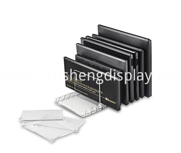 Transparent Makeup Palette Organizer