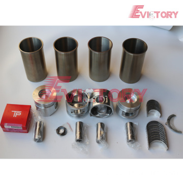 excavator 2Z engine gasket bearing piston ring liner