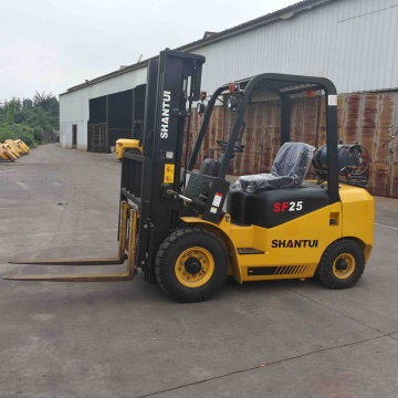 2 ton gasoline forklift with Nissan engine