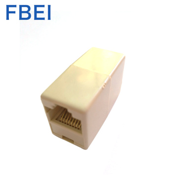 Lan cable connector RJ45 coupler
