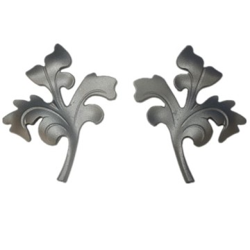 Wrought Iron Floral Ornament