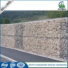 galvanized steel welded gabion wall for flood
