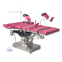 Economical operation bed for obstetrics and gynecology