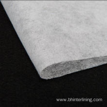 High Quality for Jacket Interlining Scatter dot fuse recycled pet fabric nonwoven interlining supply to Philippines Factories