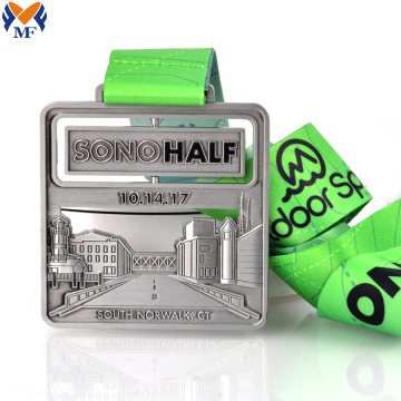2019 half race terrain finisher medals