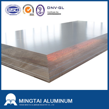 Wholesale Discount for Shipbuilding Aluminum Plate marine grade 5083 H111 6/8/12mm thick aluminum alloy sheet for boat supply to Haiti Factories