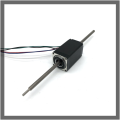 NEMA11/28mm high resolution hybrid linear stepper motor
